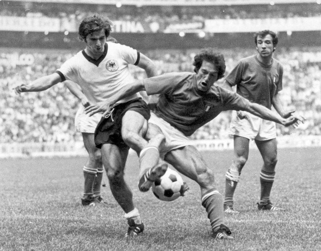 Gerd Mueller gegen Fabrizio Poletti