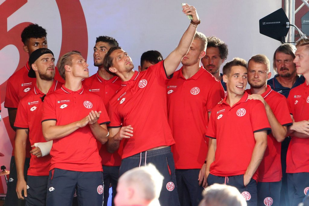 FSV Mainz 05 mit Neuzugang Rene Adler