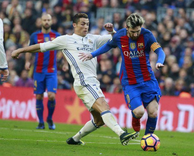 Messi Ronaldo Zweikampf