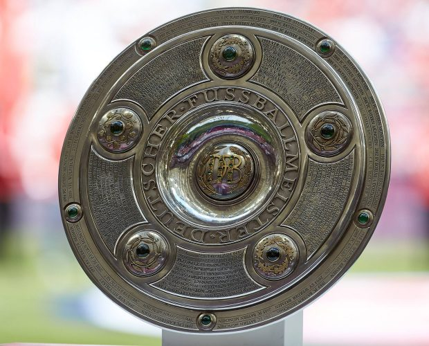 Die Meisterschale der Fußball Bundesliga