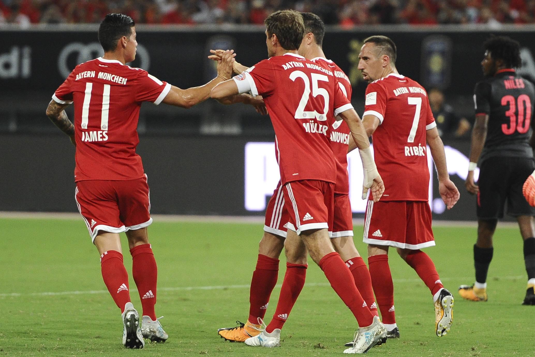 Bayern-Arsenal Internacional Champions Cup