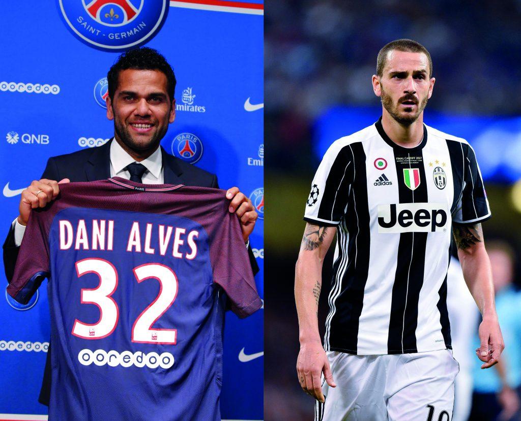 Juventur Turin entledigt sich der beiden ungewollten: Die in Ungnade gefallenen Dani Alves und Leonardo Bonucci verlassen den Verein. Rechtsverteidiger Alves wechselt zu Paris Saint Germain, Innenverteidiger Bonucci zum AC Mailand.