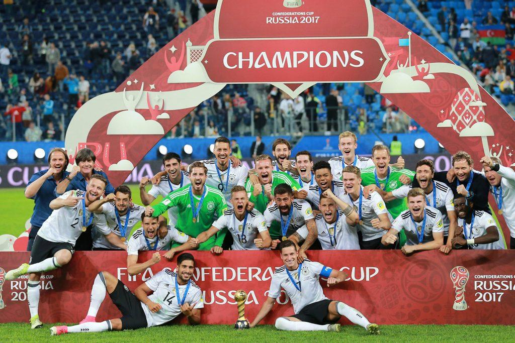 Deutschland gewinnt den Confed Cup 2017.